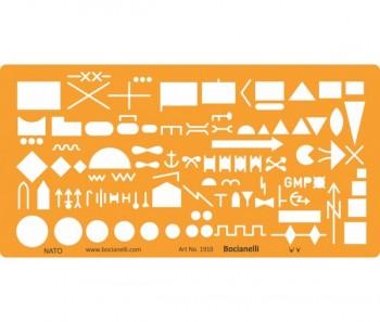 military map stencil