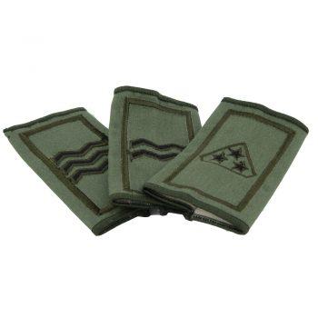 irish army rank