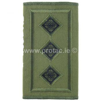irish army captain rank