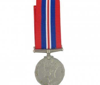 WW2 War Medal 1939-1945 with ribbon