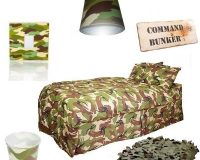 camo bedroom set