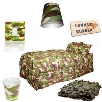 camo bedroom set