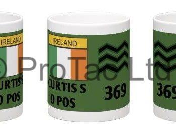 zab badge, mug, zap badge mug, irish defence forces mug