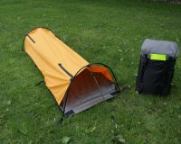 sheltrbag, shelter, bivi, camping, emergency shelter