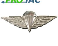 parachute wings, parachute badge, metal badge, para badge, irish defence forces parachute badge